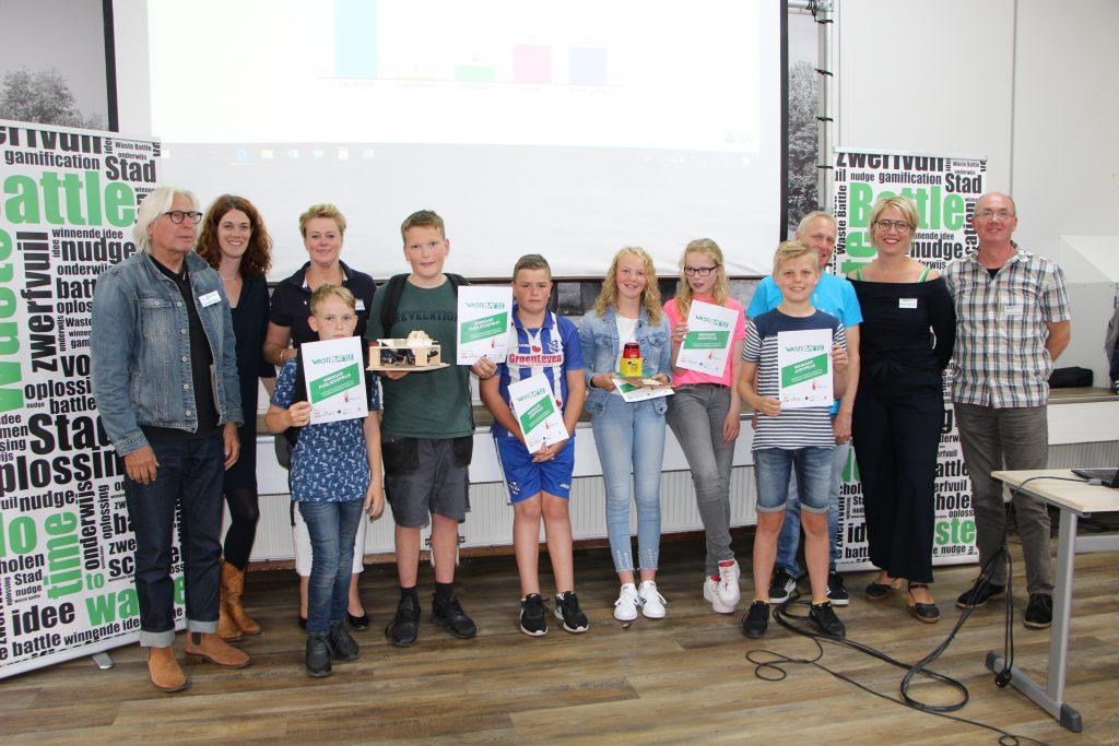 De jurywinnaar Laidels en publiekswinnaar De Jirpels